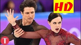 This Figure Skating Move Was TOO HOT For The Olympics HD