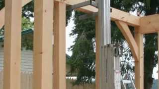British Columbia Timberframe Co. - Timber Frame Construction And Joinery Details