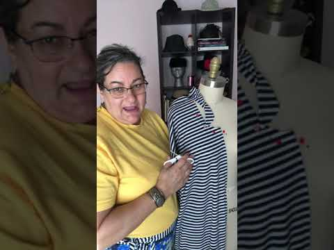 Draping with Stripes, DIY Tutorial