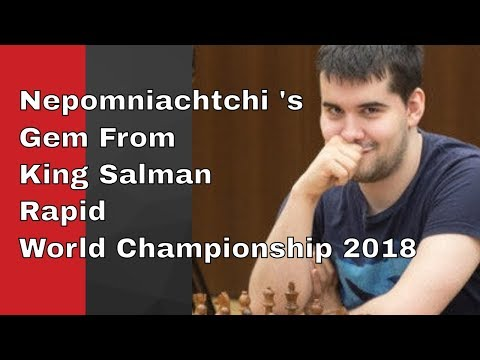 A Gem From King Salman Rapid World Championship 2018