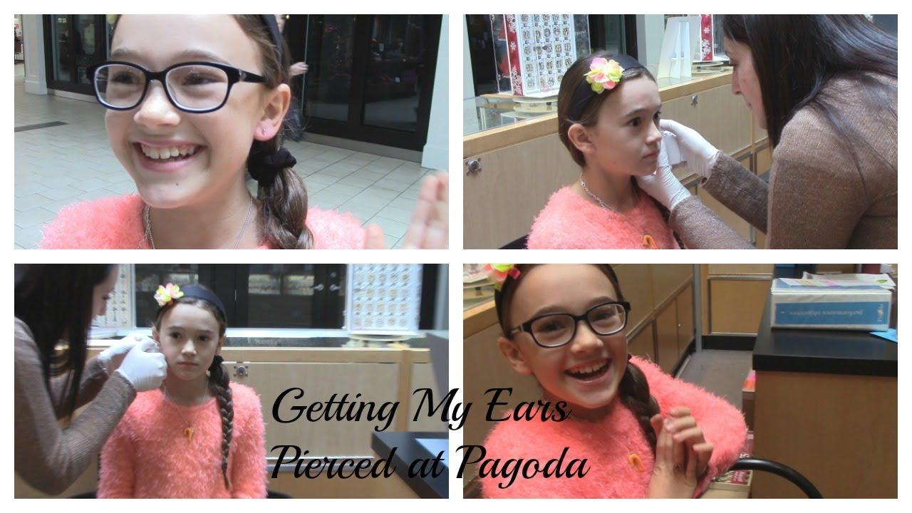 Getting My Ears Pierced At Pagoda Fashion By Fiona Fiona