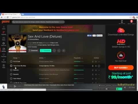 How To Unlimited Download Songs From Gaana.com For Free