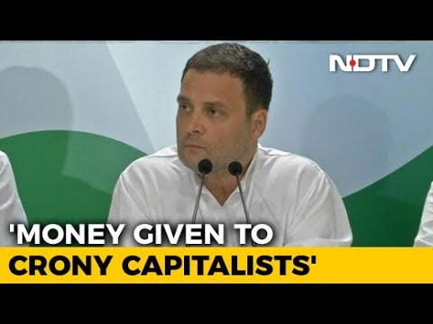 Rahul Gandhi Says Demonetisation 'Scam' Aimed To Help Crony Capitalists