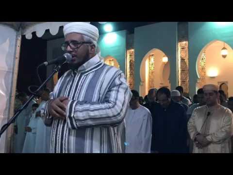 القارئ احمد الخالدي الليلة الخامسة من تراويح رمضان 1438