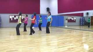 Blurred Lines - Line Dance (Dance & Teach in English & 中文)