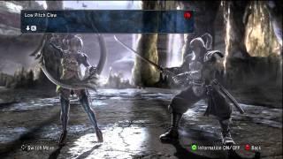 Soul Calibur 5 Tira Move List