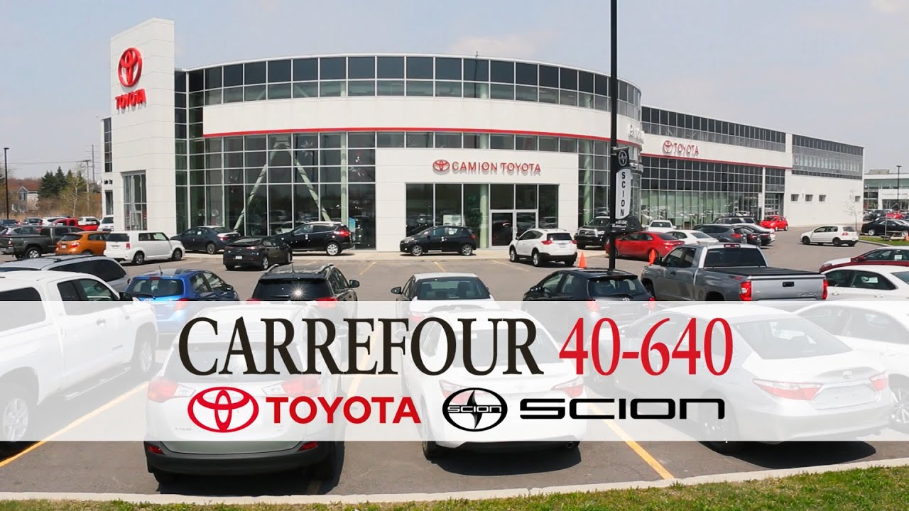 Carrefour 40 640 >> Carrefour 40 640 Toyota Charlemagne Youtube