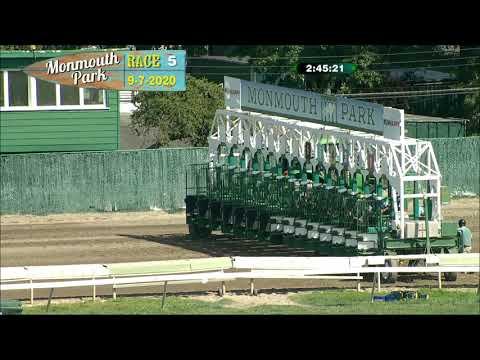 video thumbnail for MONMOUTH PARK 09-07-20 RACE 5