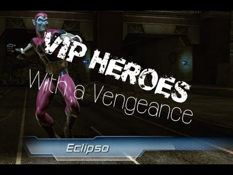 DCUO | With A Vengeance - VIP Heroes (Nature Heal)