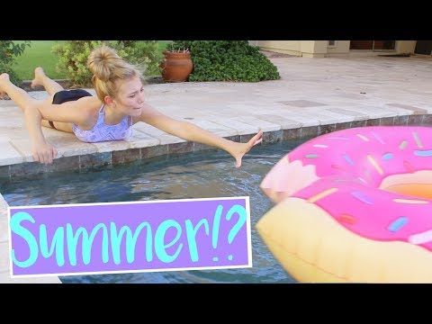 How Girls Get Ready for Summer! + GIVEAWAY! | Sasha Morga
