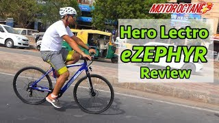 EXCLUSIVE: Hero Lectro eZephyr e-bike Review in Hindi | MotorOctane