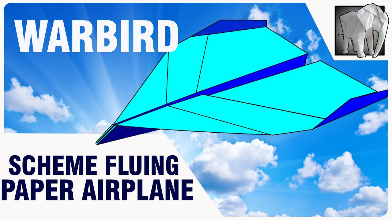 Paper Airplane Diagram Of Parts Clarion Cz302 Wiring Plane Flying Pdf Warbird Youtube
