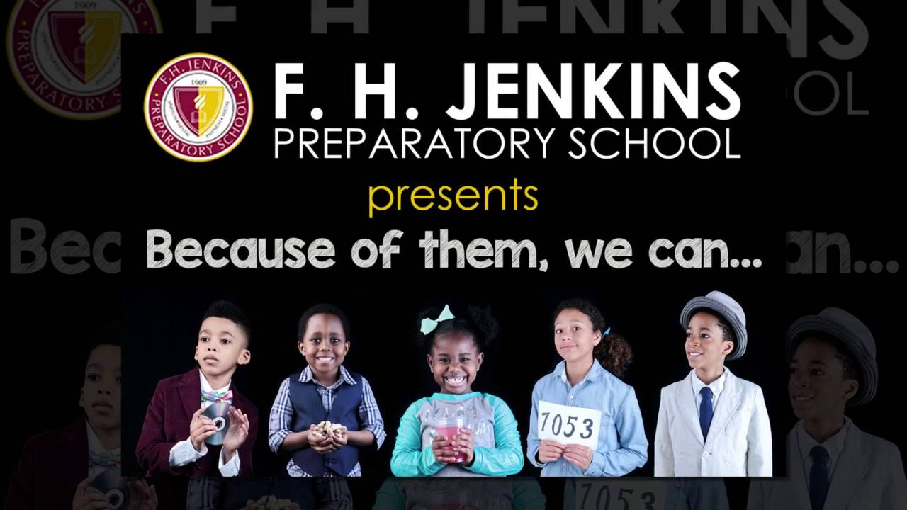 Because of Them, We Can    #iamfhjenkins