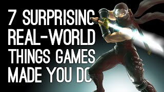 7 Surprising Real-World Things Games Made You Do