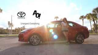 Ashley Outrageous x 2014 Toyota Corolla #UnexpectEverything
