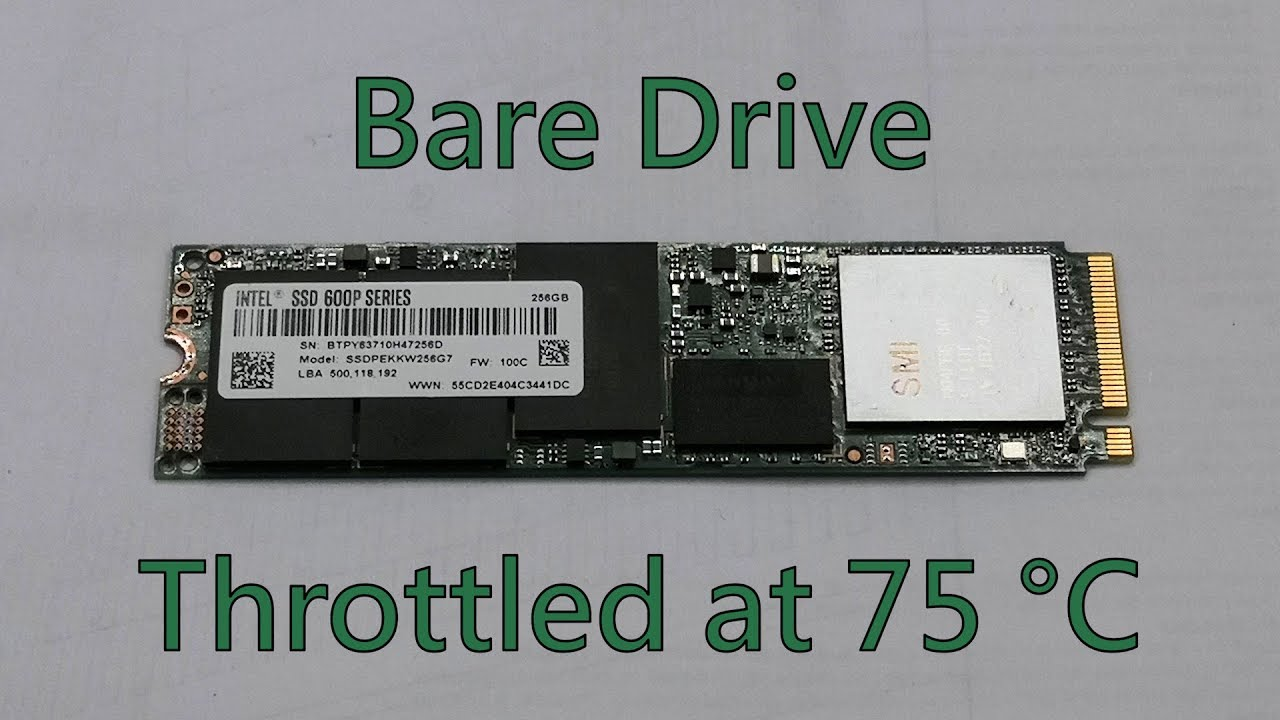 Is An M 2 Heatsink Necessary For An Nvme Ssd Youtube