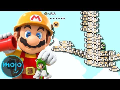 Top 10 Insane Super Mario Maker 2 Levels
