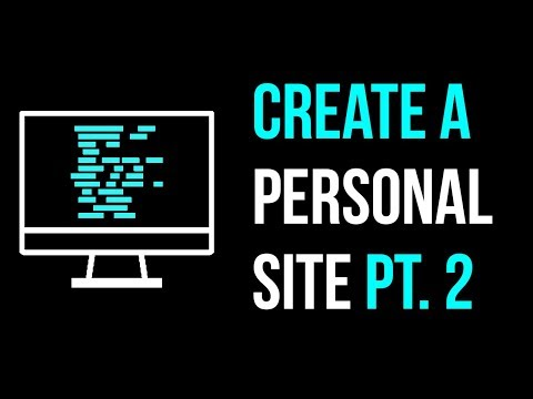 How To Create A Personal Website Part 2 + CSS + Inspector Tools
