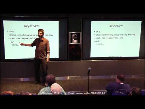 NYLUG Presents: Daniel Kahn Gillmor on GnuPG and the Future of OpenPGP (May 29th 2015)