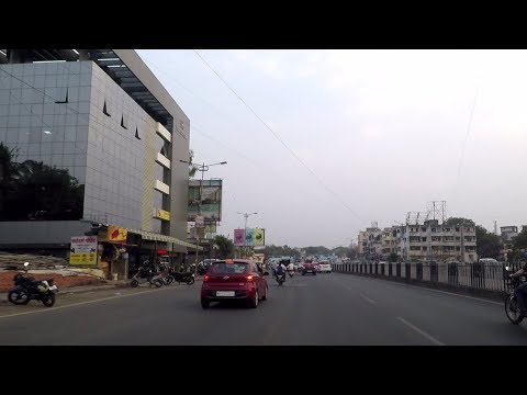 Driving in Pune (Dhanori to Koregaon Park) - Maharashtra, India