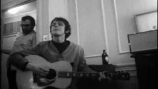 Donovan sings for Bob Dylan