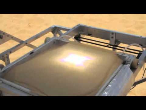 Solar Sinter - a solar-powered 3D glass printer