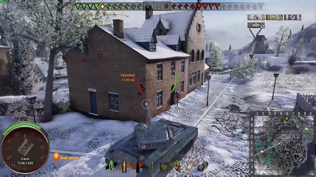 amx 13 105 wot console