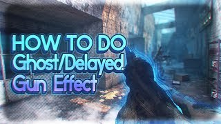 How To Make A Delayed/Ghost Gun Effect [After Effects Editing Tutorials #4]
