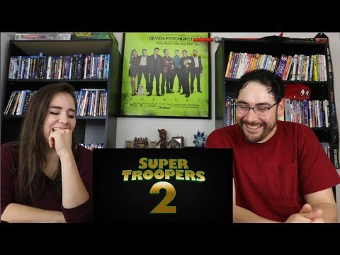 Super Troopers 2 - Official Red Band Teaser Reaction / Review