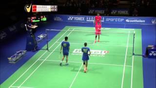Liu Chen/Bao Yixin vs Lu Kai/Huang Yaqiong | XD F Match 1 - Swiss Open 2015