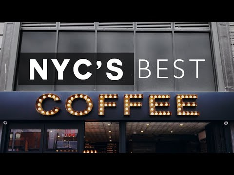 BEST COFFEE SHOPS IN NEW YORK CITY! 2017 Tour