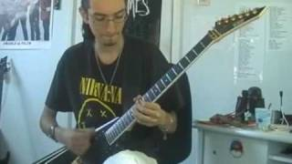 static x the only guitar cover jeroen petri