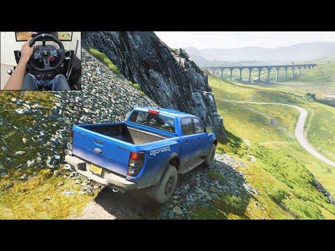 Ford Ranger Raptor | Realistic Offroading - Forza Horizon 4 | Logitech G29 Gameplay