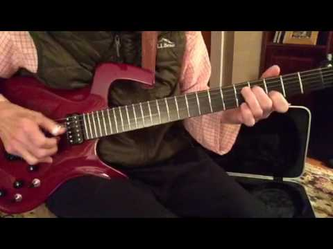 The Entertainer on cherry Parker Fly Mojo with Fender G-DEC