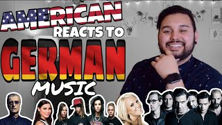 American REACTS // German Music