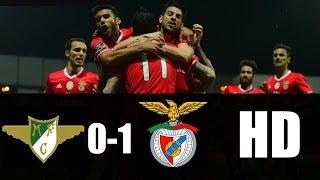 Moreirense vs Benfica 0-1 RESUMEN GOL 2017 HD