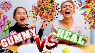 GUMMY FOOD vs REAL FOOD  eklige Bonbons? - Mileys Welt