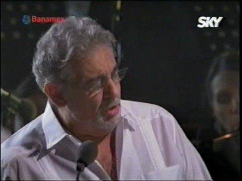 Plácido Domingo, Armando Manzanero