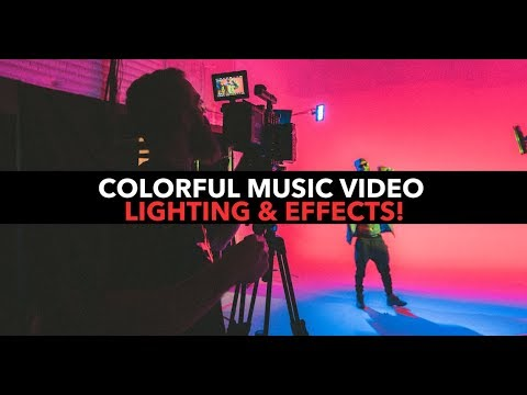 Colorful Music Video Lighting Effects & Techniques!