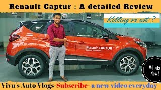 Renault Captur : A complete & detailed review| Honest guide
