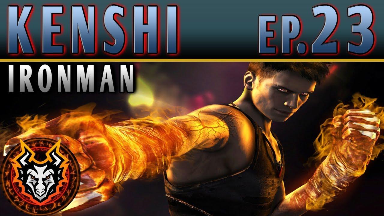 Kenshi Ironman PC Sandbox RPG - EP23 - THE GREATEST MARTIAL ARTIST