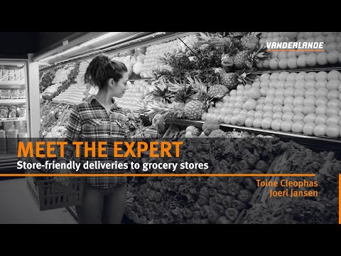 Meet the Expert vlog  #8   Store-friendly deliveries to grocery stores