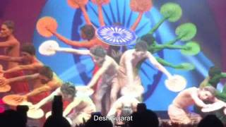 Patriotic dance by Ahmedabad