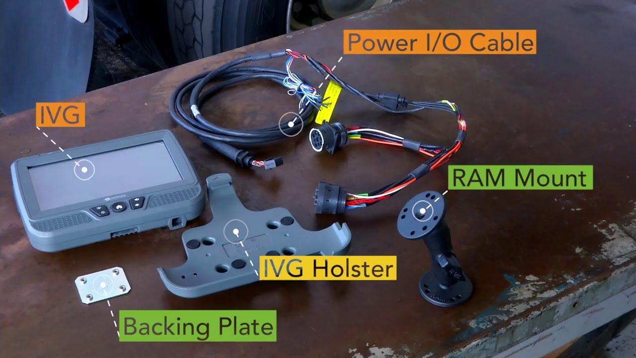 hight resolution of omnitracs ivg installation