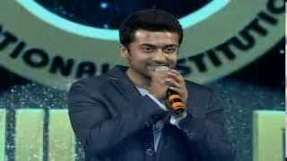 Actor Surya Speech - 21st SVET Annual Day