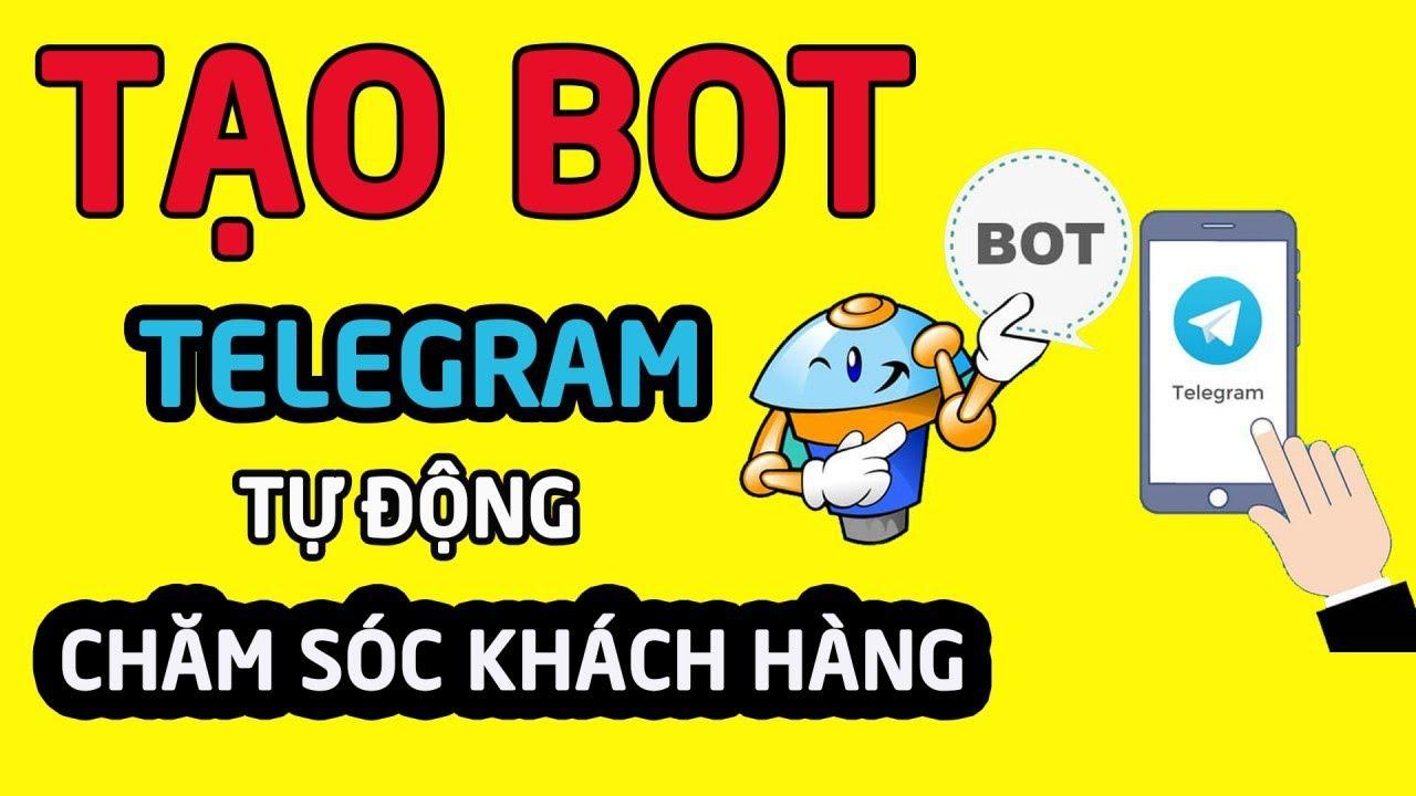 🎯 Kiếm tiền online tại nhà – Hướng dẫn tạo bot TELEGRAM  tự động chăm sóc KHÁCH HÀNG