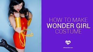 Super Easy Wonder Girl, Donna Troy Costume