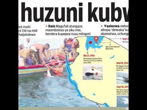 Download Wimbo wa #Majonzi #Huzuni AJALI YA MV NYERERE SEPT 20,2018