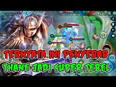 FUNNY GAMEPLAY THANE BEST OBSERVER ARENA OF VALOR INDONESIA