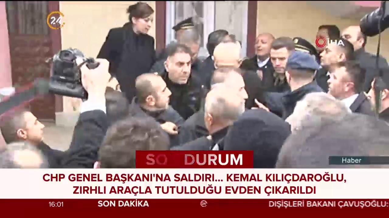 Kemal Kılıçdaroğlu'nun sığındığı evden zırhlı araca bindirildiği o anlar...